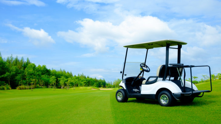 開発事例:ゴルフカート・ブレーキ