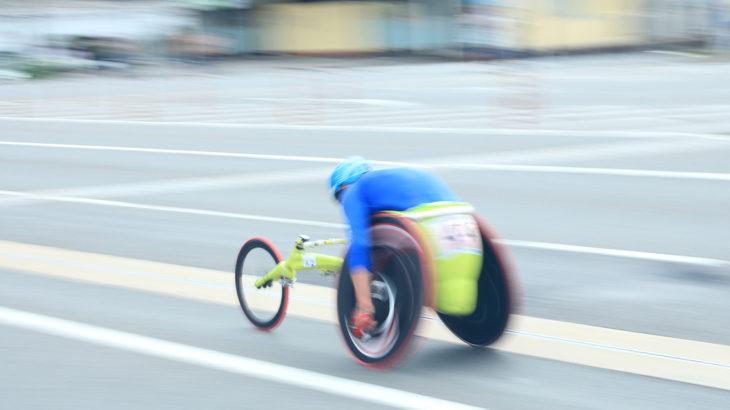 開発事例:マラソン用車椅子ハブ