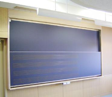 開発事例:昇降式黒板・制動部