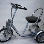 開発事例:三輪自転車・制動部