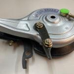ブリヂストン「BLOUSON」ブレーキ交換レポートVOL2・後輪ブレーキ交換・巨匠ジウジアーロデザイン