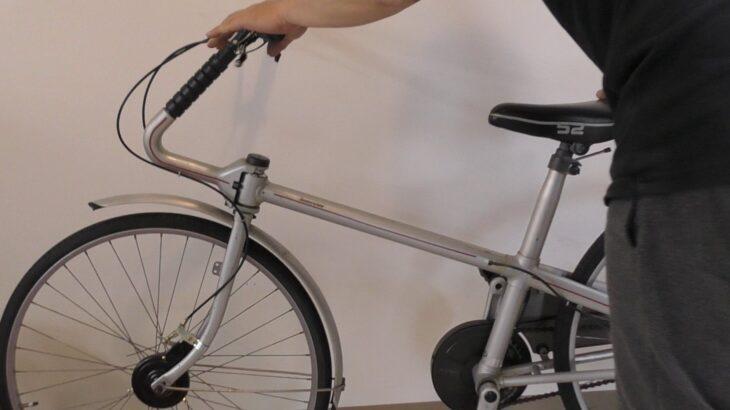 ブリヂストン「BLOUSON」ブレーキ交換レポートVOL4・前輪にもドラムブレーキ・巨匠ジウジアーロデザイン